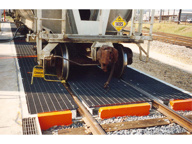 Glass Reinforced Plastic Grating for Train Station Transportation Market